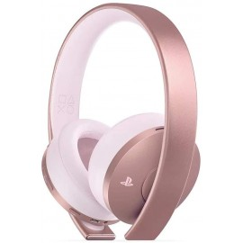 CASQUE SONY PS4 GOLD ROSE
