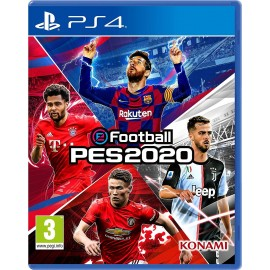 J PS4 PES 2020