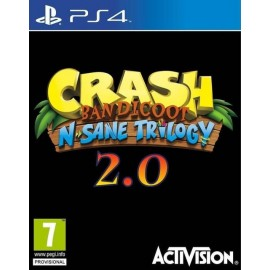 CRASH BANDICOOT TRILOGY 2 0 P4