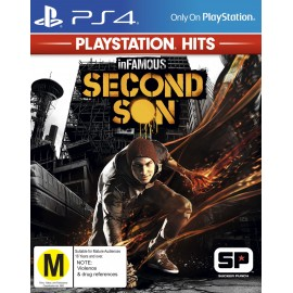 J PS4 INFAMOUS SECOND SON