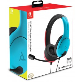 CASQUE LVL40 WIRED BL R SWITCH