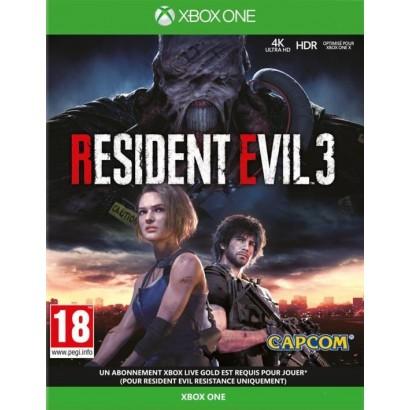 RESIDENT EVIL 3 XBOX