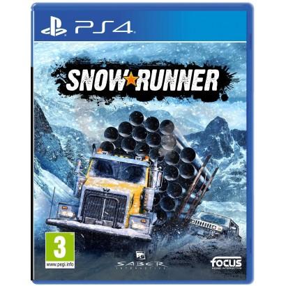 JV PS4 SNOWRUNNER