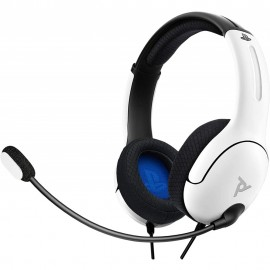 CASQUE PS4 PDP LVL40 WHITE