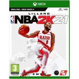 J XONE NBA 2K21 STANDARD