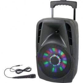 DJ PARTY ENCEINTE ROUE BOOMX08