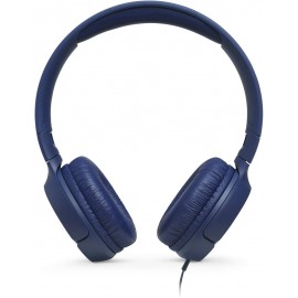 JBL T500 WIRED BLUE