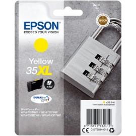 CART EPSON N 35XL  JAUNE